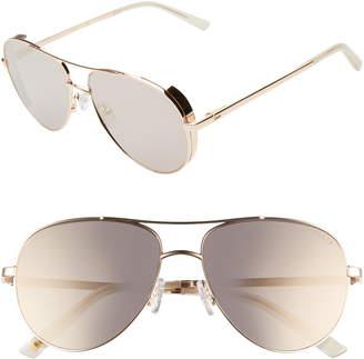 Ted Baker 57mm Aviator Sunglasses
