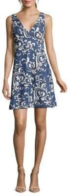 Paisley A-Line Cotton Dress