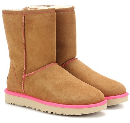 Ugg Australia Classic Short II suede ankle boots