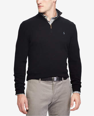 Polo Ralph Lauren Men's Cashmere Blend Half-Zip Sweater