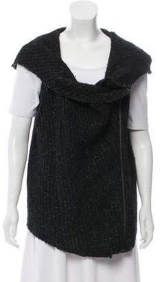 Helmut Lang Hooded Wool Vest