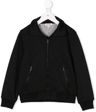 Kenzo logo print bomber jacket