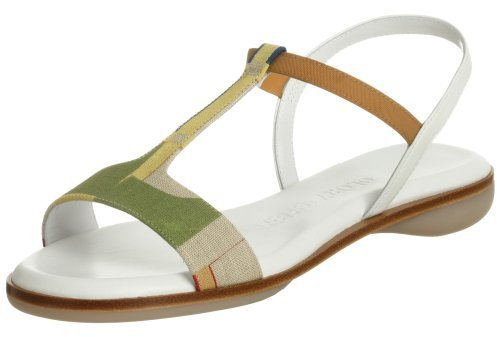 Glory Chen Women's Market Ankle Strap Sandal