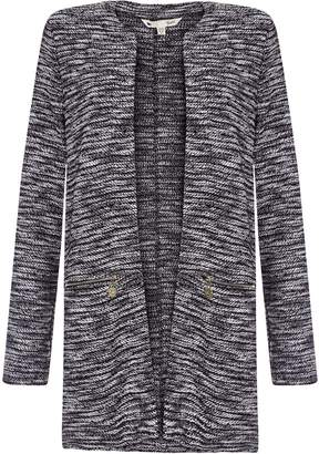 Yumi Zipped Pocket Marl Jacket