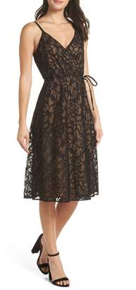 Ali & Jay Cheek to Cheek Lace Midi Dress