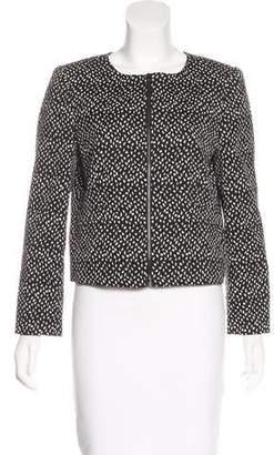 Alice + Olivia Patterned Zip-Up jacket