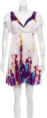 Diane von Furstenberg Dagny Pleated Dress