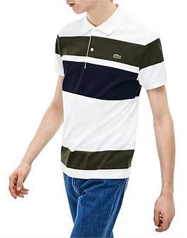 Lacoste Slim Blocked Stripe Polo