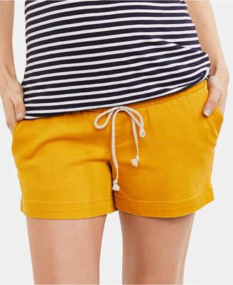 A Pea in the Pod Maternity Drawstring Shorts