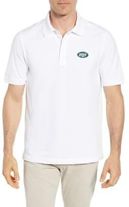 Cutter & Buck New York Jets - Advantage Regular Fit DryTec Polo