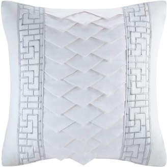 Natori Decorative Square Pillow, White