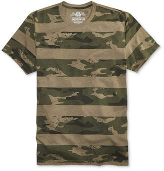 American Rag Men's Camo Stripe T-Shirt