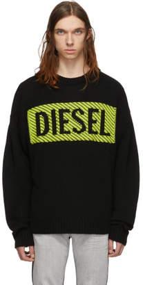 Diesel Black K-Logox-C Sweater