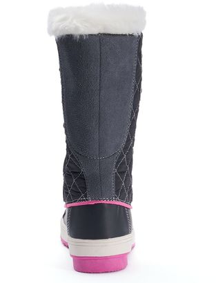 totes Suri Girls&39 Water-Resistant Winter Duck Boots - ShopStyle Kids