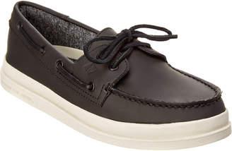 Sperry Men's A/O 2-Eye Raincoat Leather Boat Shoe