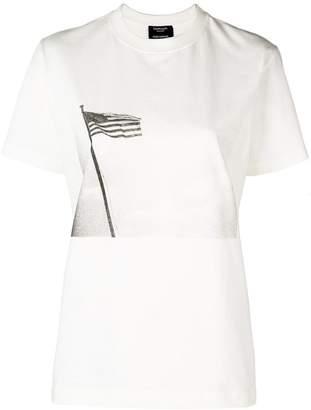 Calvin Klein flag print T-shirt