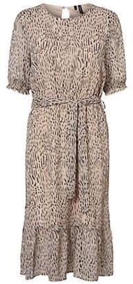 Vero Moda Smila Printed Self-Tie Dress