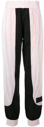 Palm Angels panel track style trousers