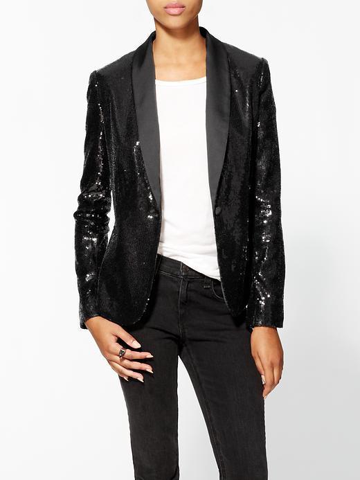 Calvin Klein Sequin Blazer