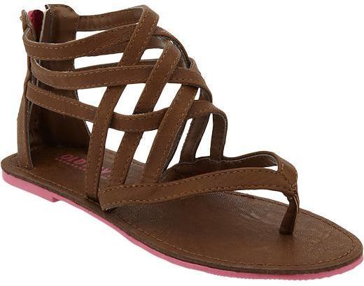 Old Navy Girls Gladiator Sandals
