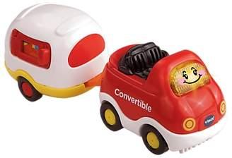Vtech Toot-Toot Drivers Convertible Car & Caravan