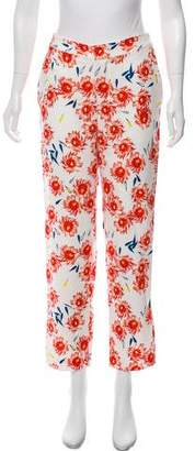 Opening Ceremony Floral Print Straight-Leg Pants w/ Tags