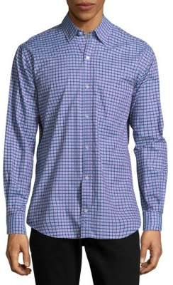 Tailorbyrd Banks Cotton Casual Button-Down Shirt