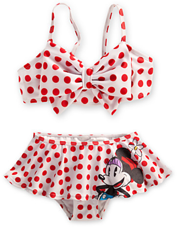 Disney Minnie Mouse Swimsuit for Girls
