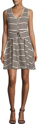 Opening Ceremony Women's Striper Transformer Cotton Dress