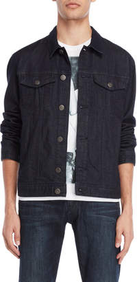 Armani Jeans Dark Wash Denim Jacket