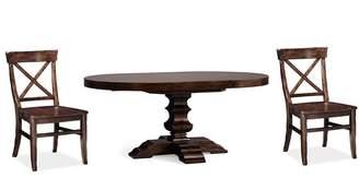 At Pottery Barn · Pottery Barn Banks Pedestal Table U0026 Aaron Chair Set