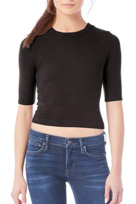 Michael Stars Fitted Cropped Tee