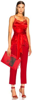 Givenchy Asymmetric Hem Split Back Cami