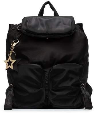 See by Chloe zipped pocket backpack