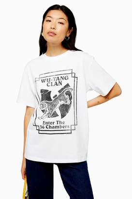 Womens Wu Tang T-Shirt By And Finally - White