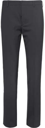 Prada Slim-Fit Stretch-Wool Trousers