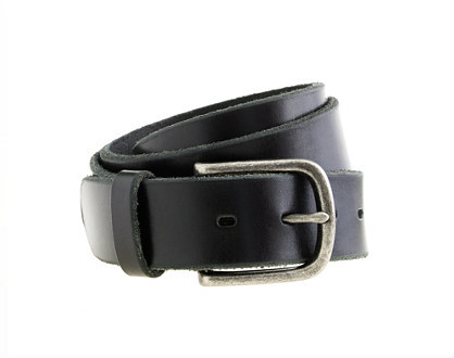 Redwood leather denim belt