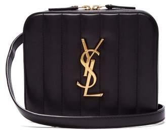 Saint Laurent Vicky Leather Belt Bag - Womens - Black