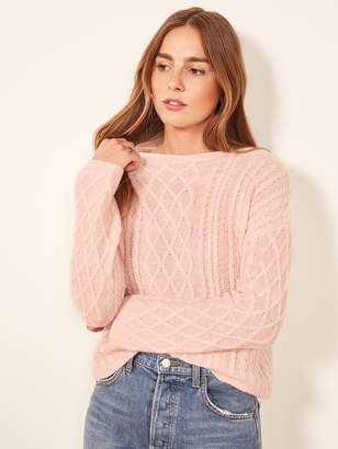 Reformation Fisherman Sweater