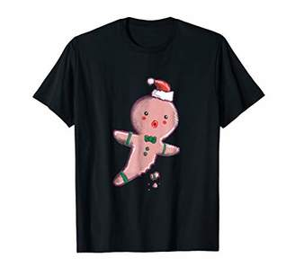 I Can't Feel My Leg Gingerbread Man Celebrate 365 T-Shirt