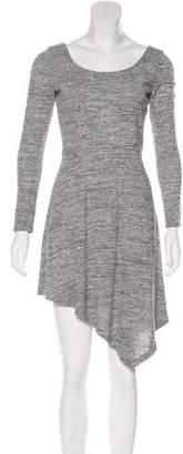 Alice + Olivia Mini Asymmetrical Dress