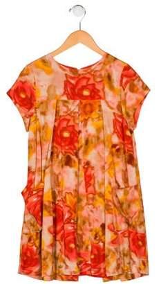 Morley Girls' Printed Pleated Dress