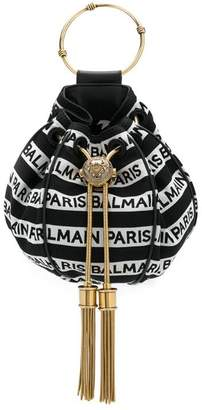 Balmain Mini B bucket bag
