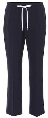 Miu Miu Cropped wool trousers