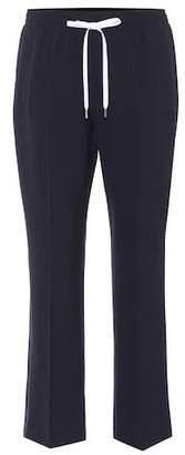 Miu Miu Cropped wool trousers