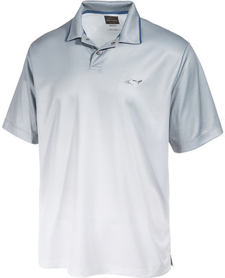 Greg Norman For Tasso Elba Men's Performance Dip-Dye Polo, Only at Macy's $55 thestylecure.com