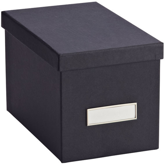 Container Store BigsoTM Stockholm CD Box Graphite
