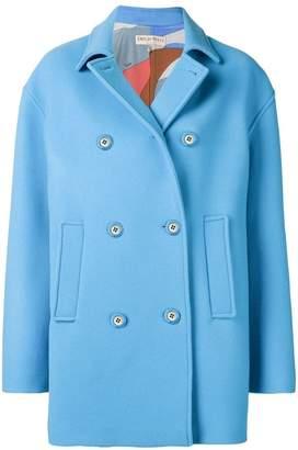 Emilio Pucci boxy double breasted coat