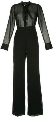 Alexis bead embellished jumpsuit