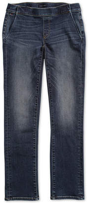 Tommy Hilfiger Adaptive Women Straight-Fit Jeans with Magnetic Zipper